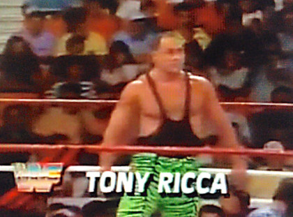 Tony Ricca of WWE Superstars of Wrestling