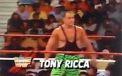 Tom Ricca of Hammonton - aka Tony Ricca for WWE Superstars of Wrestling
